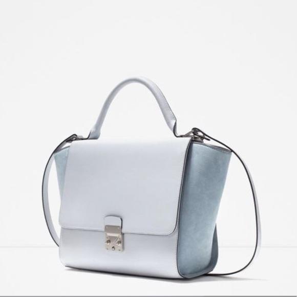 2826295f737 Zara combined city bag with buckle. M_5cb979591153baa48f04500b